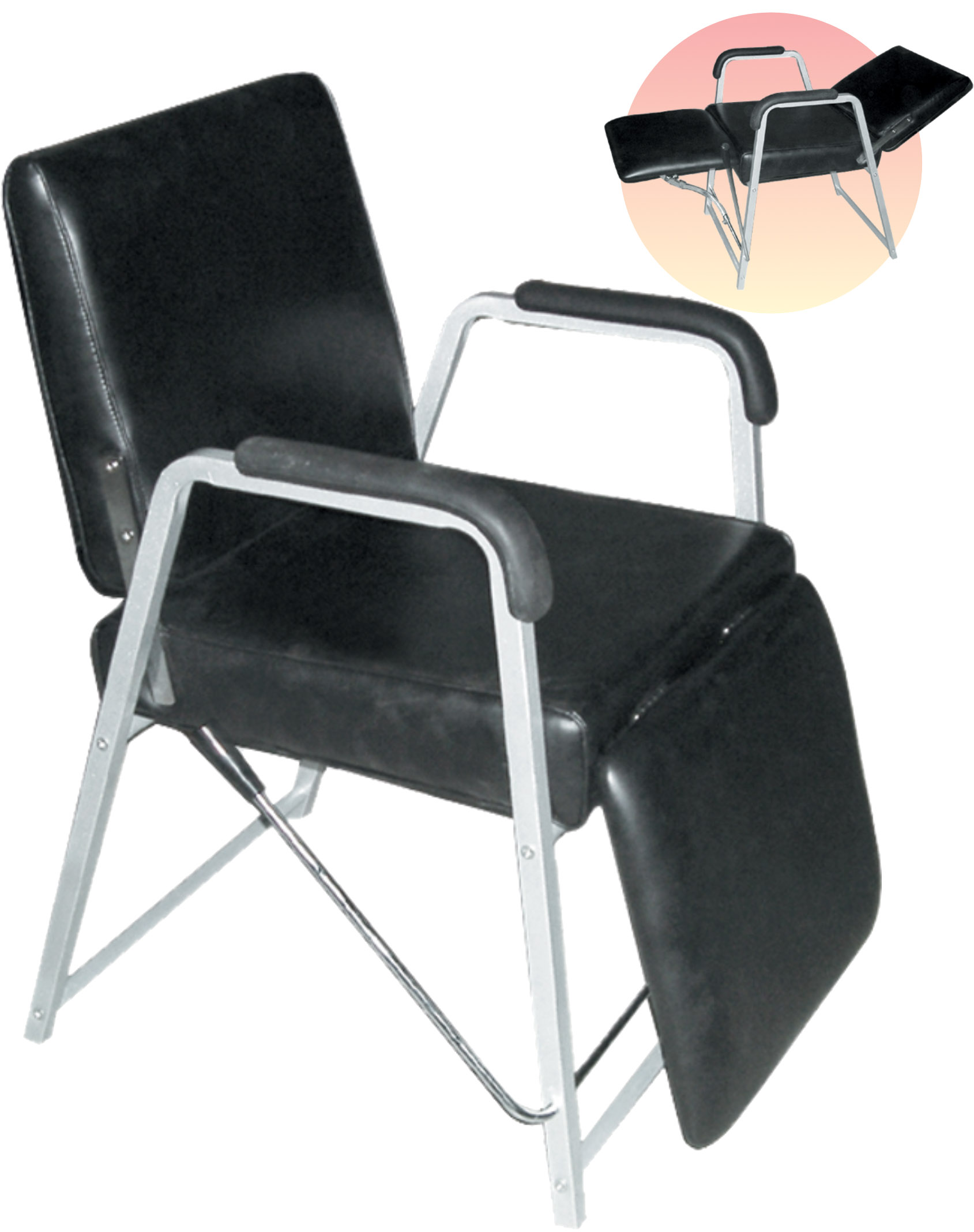 chair with leg rest india damask banquet covers classic reclining shampoo adjustable back and