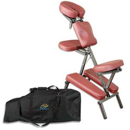 NRG Grasshopper Portable Massage Chair Package on Sale