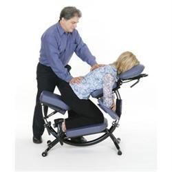 Pisces Dolphin II Portable Massage Chair Soft Touch Vinyl