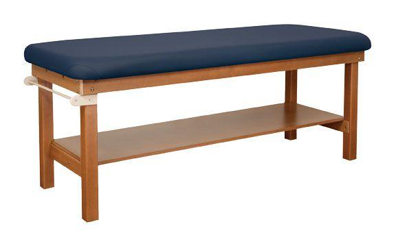 Oakworks Powerline Exam Treatment Table with Shelf for Sale