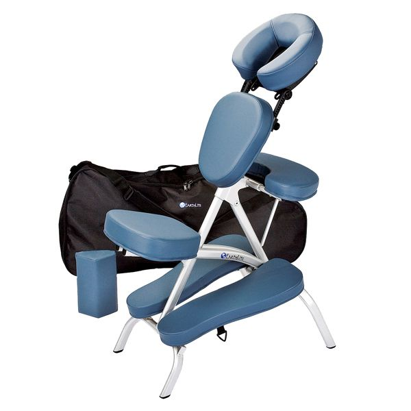 EarthLite Vortex Portable Massage Chair Package  Carry Case