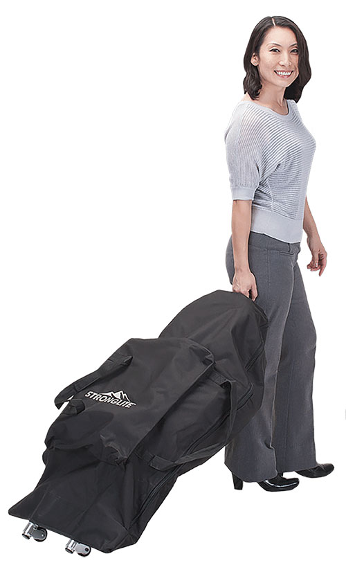 Stronglite Ergo Pro II Portable Massage Chair  Carrying Case
