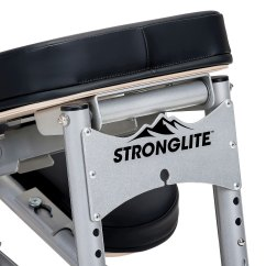 Professional Massage Chair Sit Stand Mat Stronglite Ergo Pro Ii Portable & Carrying Case