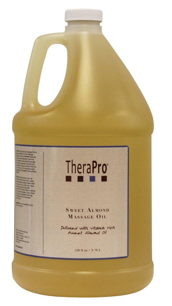 Therapro Sweet Almond Oil 1 Gallon 128 Oz