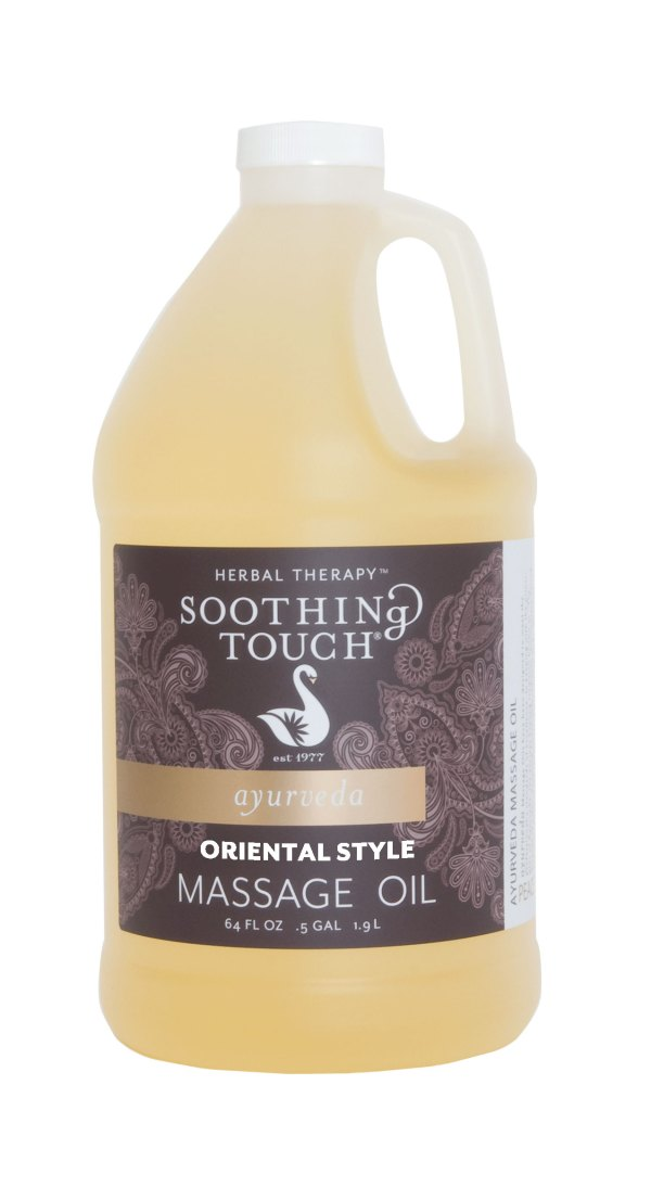 Soothing Touch Herbal Therapy Massage Oil Oriental