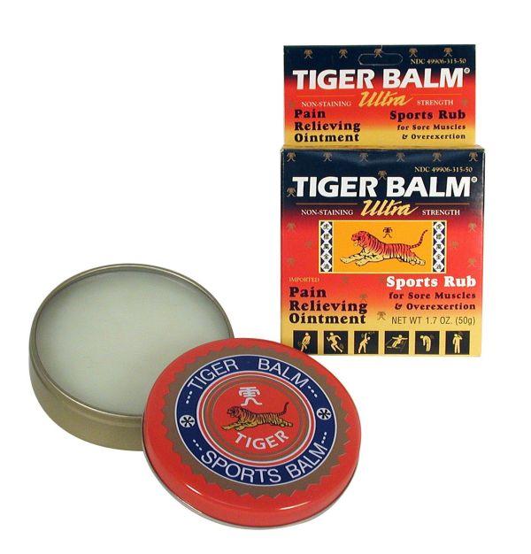 Tiger Balm Sports Rub Ultra Strength Stain 1.7