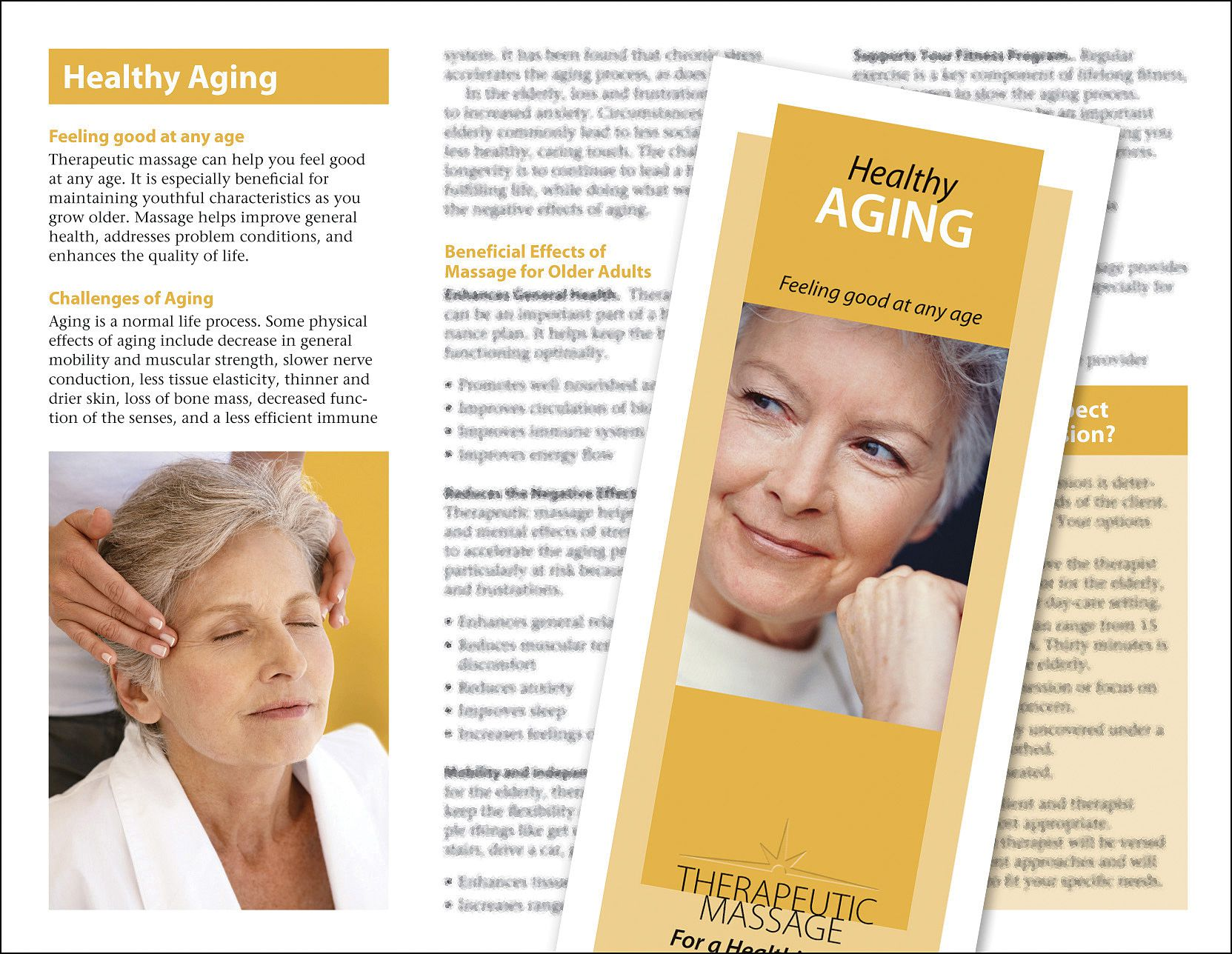 Buy Massage For Healthy Aging Brochure 50 Pack
