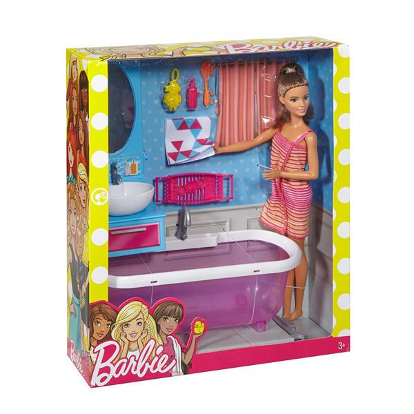 Il Bagno di Barbie  Massa Giocattoli