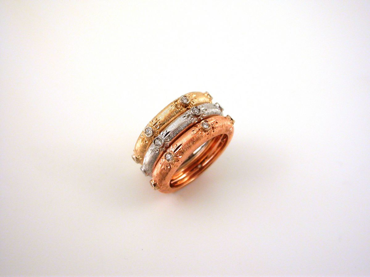 Collections The Florentine Style Rings