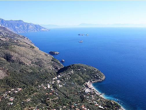 Marina del Cantone dal San Costanzo - Carmine Troise