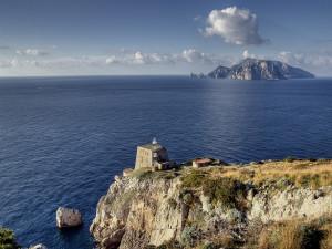 Punta Campanella e Capri - Franco