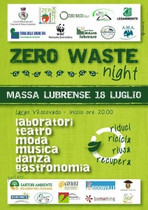 zero waste night 2015 massa lubrense