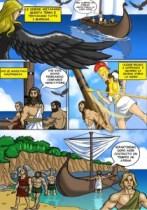 Fumetto Massa Lubrense - Ulisse e le sirene