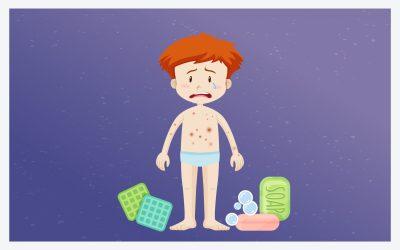 Dermatitis atópica, una enfermedad frecuente en la niñez