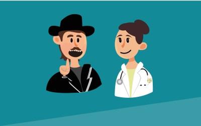 ¿Por qué la bata blanca de los médicos?