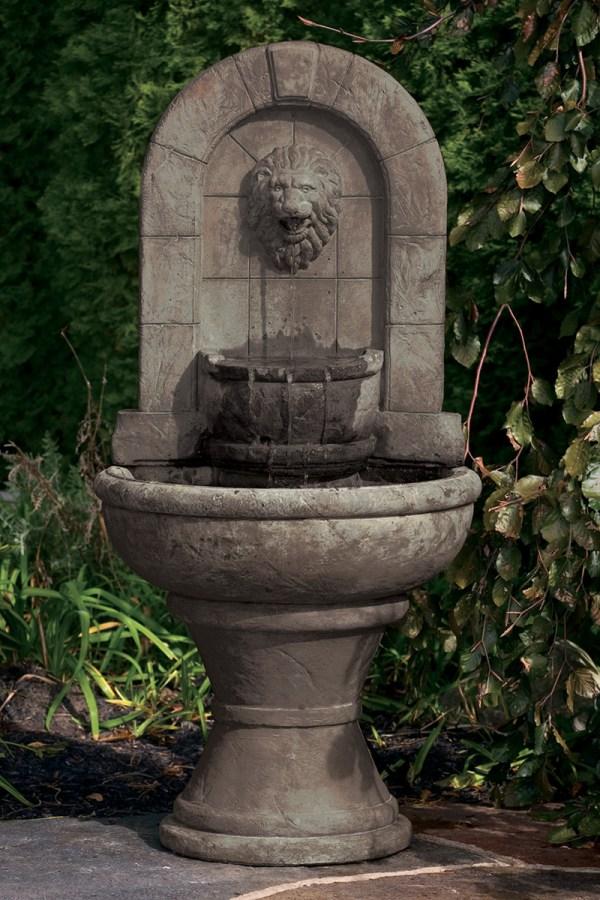 Garden Wall Lion Fountains