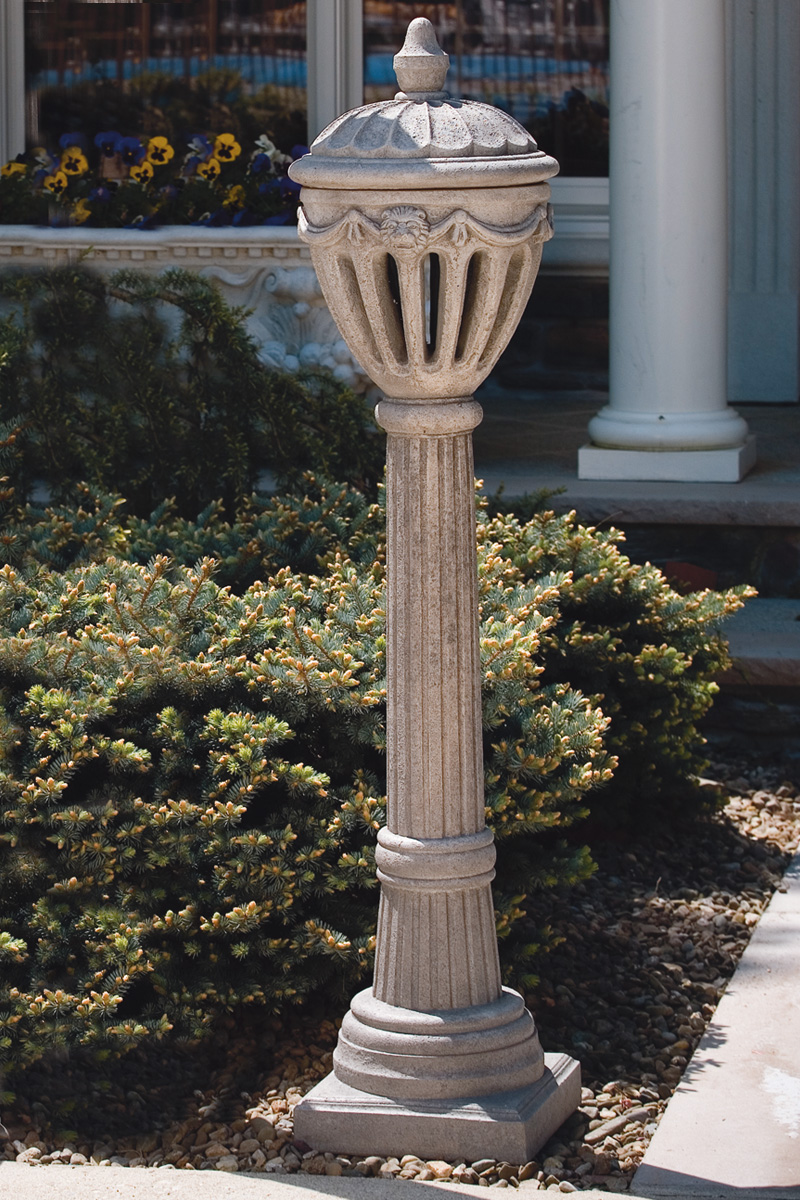 55 Royal Stone Lamp Post  Massarellis