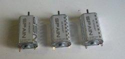 I tre motori Spanish King nuovi
