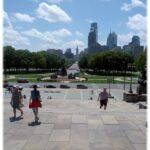 Vista di Philadelphia dal Museo di Arte Moderna