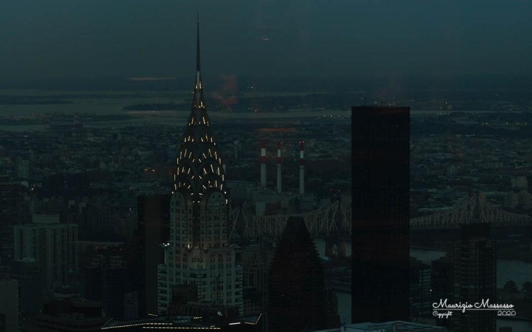 Chrysler Building dall'Empire