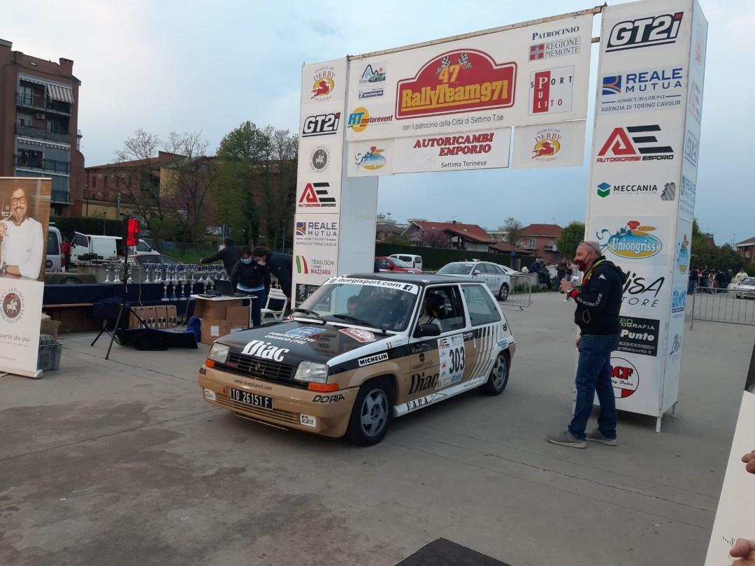 Rally Team 971 Regolarità 2021, Scorcione-Massasso, Renault 5 GT Turbo