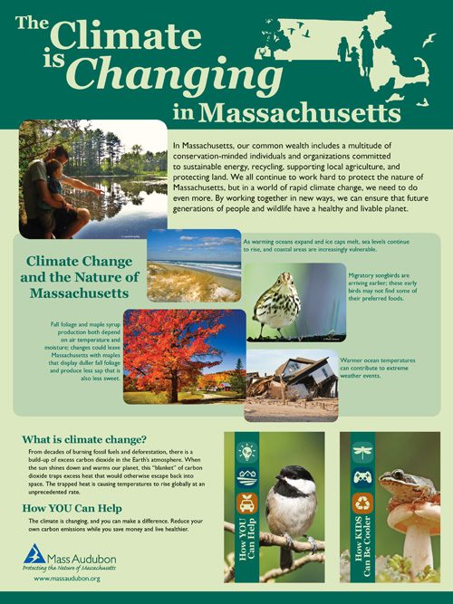 Climate Change Education Posters