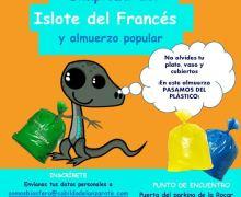 'Junt@s somos Biosfera', el programa de voluntariado de la Reserva de la Biosfera organiza una campaña de limpieza del Islote del Francés