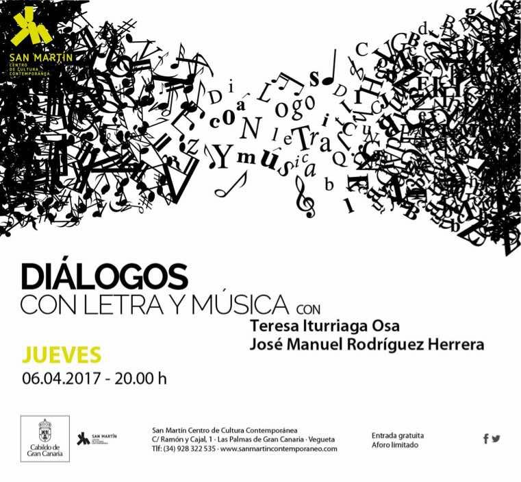 La escritora Teresa Iturriaga y el músico José Manuel