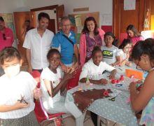 Argana Alta disfruta de sus fiestas esta semana con varios talleres infantiles