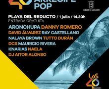 Todo a punto para la mayor fiesta al aire libre de Lanzarote: LOS40 Arrecife Pop