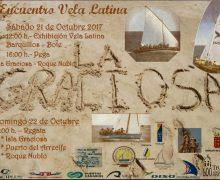 La Graciosa acoge un encuentro de Vela Latina Canaria por los 80 años de historia del Barquillo Isla Graciosa