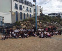 Los escolares de Arrecife visitan el Portal de Belén