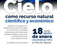 El cielo, recurso natural, científico y económico