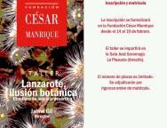 Taller Lanzarote, ilusión botánica. Etnoflora de una isla desértica, en la Fundación César Manrique