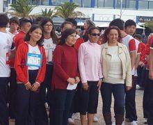 Arrecife, epicentro de la carrera solidaria del Colegio Arenas Internacional