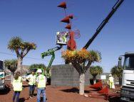 El Cabildo de Lanzarote devuelve a Arrieta el Juguete de Viento 'Veleta' totalmente restaurado