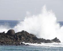 Mañana se declara la prealerta por fenómenos costeros y vientos en toda la Comunidad Autónoma de Canarias