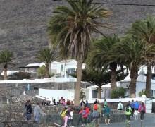 """El Ayuntamiento de Tías organiza este domingo un sendero para contemplar """" el nuevo  paisaje verde de Lanzarote """" en La Geria y La Asomada"""