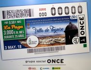 La Villa de Teguise, imagen del Cupón de la ONCE del próximo 3 de mayo