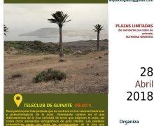 El Cabildo de Lanzarote organiza una nueva actividad de senderismo patrimonial interpretado con una ruta entre Guinate y Montaña Gayo