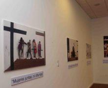 """Inaugurada la exposición fotográfica """"De generación en generación"""" de la Asociación Cultural Punctum 2.0 y que podrá visitarse en el Centro Cívico de Playa Honda"""