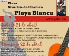 Playa Blanca invita el fin de semana a su fiesta andaluza