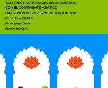 El Ayuntamiento de San Bartolomé organiza dinamización infantil, juvenil y familiar durante el mes de junio, en la plaza Santa Elena de Playa Honda