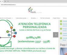 Más de un 76% de los contribuyentes opta por tramitar el abono de los impuestos en los primeros días del periodo de pago en voluntario a través de la Oficina Virtual de la Red Tributaria Lanzarote