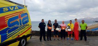 El Ayuntamiento de Tías equipa con 4 desfibriladores a las playas de Puerto de Carmen