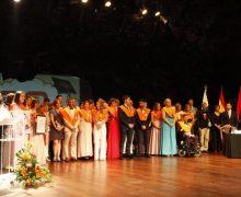 La Escuela Universitaria de Turismo de Lanzarote celebró en Jameos del Agua el acto de Graduación y entrega de Orlas de la promoción 2014-2018