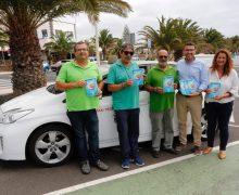 Los taxis de Teguise promueven sus excelencias como destino