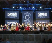 El Festival Folclórico Nanino Díaz Cutillas congregó en su trigésima edición a una representación del folclore de Canarias