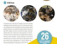 El Cabildo de Lanzarote imparte la charla 'La peña de las Cucharas 2018-Fiquinineo. Nuevos resultados, nuevos proyectos de investigación'