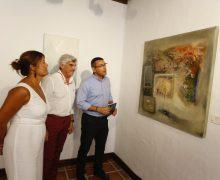 Carlos Parra expone sus obras en la Casa de la Cultura De la Villa de Teguise